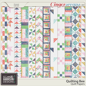 Quilting Bee Quilt Papers by Aimee Harrison