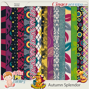 Autumn Splendor Papers