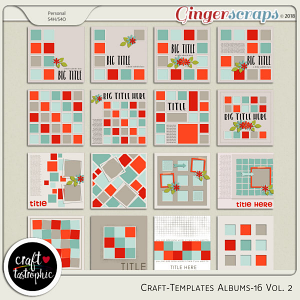 Craft-Templates Album-16 Vol.2