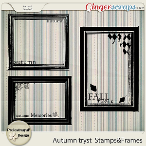 Autumn tryst Stamps&Frames