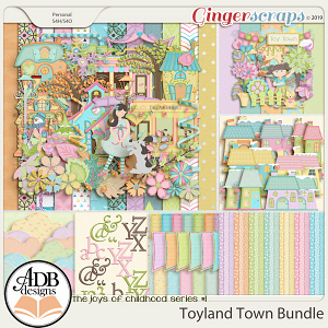 Toyland Town Bundle by ADB Designs