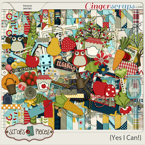 Yes I Can Kit - Scraps N Pieces