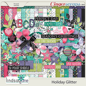 Holiday Glitter by Lindsay Jane
