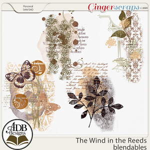 The Wind in the Reeds Accent Blendables by ADB Designs