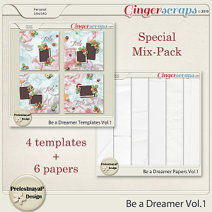 Be a Dreamer Vol.1 [Templates and Papers]