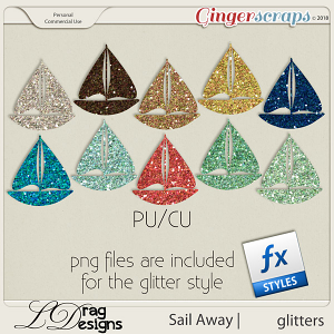 Sail Away: Glitterstyles by LDrag Designs