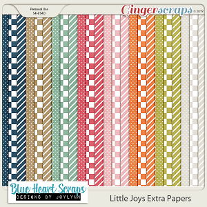 Little Joys Extra Papers Pack