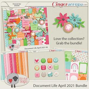 Document Life April 2021 Bundle by Luv Ewe Designs