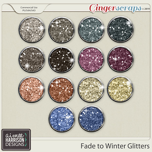 Fade to Winter Glitters by Aimee Harrison