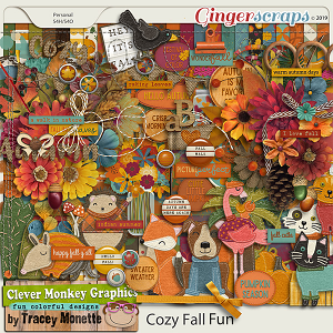 Cozy Fall Fun by Clever Monkey Graphics