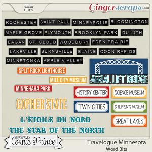 Travelogue Minnesota - Word Bits