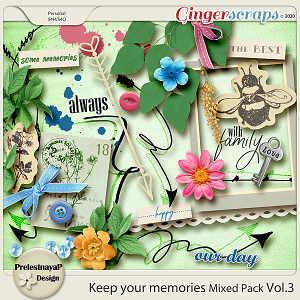 Keep your memories Mixed Pack Vol.3