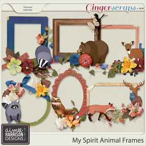 My Spirit Animal Frame Clusters by Aimee Harrison