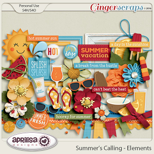 Summer's Calling - Elements by Aprilisa Designs