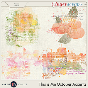 This is Me October Accents by Karen Schulz