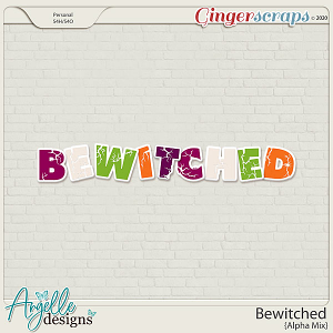 Bewitched Alpha by Angelle Designs