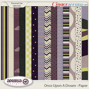 Once Upon A Dream - Papers by Aprilisa Designs