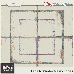Fade to Winter Messy Edges by Aimee Harrison