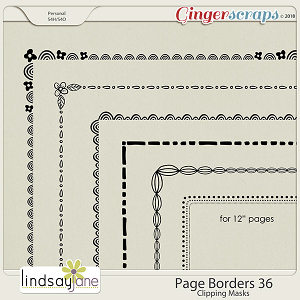 Page Borders 36 by Lindsay Jane