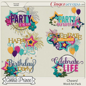 Cheers!n - WordArt Pack