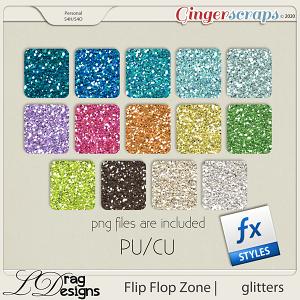 Flip Flop Zone: Glitterstyles by LDragDesigns