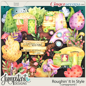 Roughin' It In Style {Campground} by Jumpstart Designs