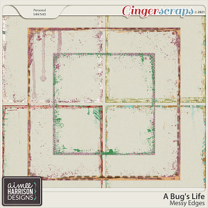 A Bug's Life Messy Edges by Aimee Harrison