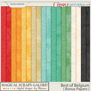 Best of Belgium (bonus papers)