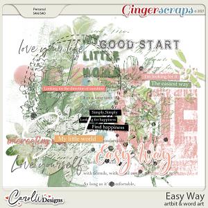 Easy Way-Artbits & Word art