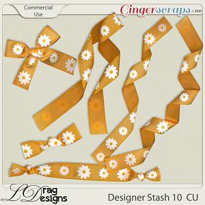 Designer Stash 10 Ribbons by LDragDesigns