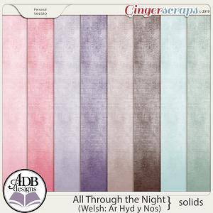 All Through The Night Cardstock by ADB Designs