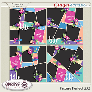 Picture Perfect 232 - Template Pack by Aprilisa Designs