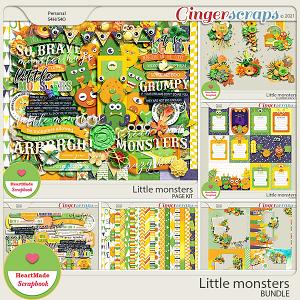 Little monsters - bundle