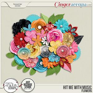 Hit Me with Music - Flowers - by Neia Scraps & JB Studio