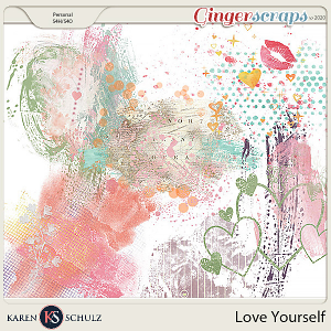 Love Yourself Accents by Snickerdoodle Designs