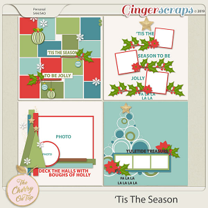 The Cherry On Top 'Tis The Season Templates