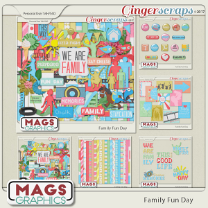 Family Fun Day BUNDLE by MagsGraphics