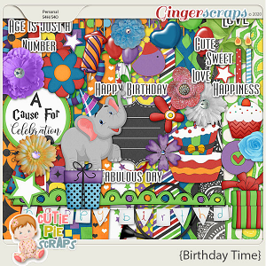 Birthday Time-Page Kit