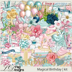 Magical Birthday by LDragDesigns
