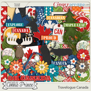 Travelogue Canada  - Kit
