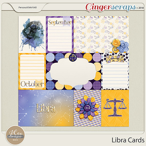 Libra Cards by JoCee Designs