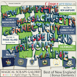 Best of New England (bonus elements)