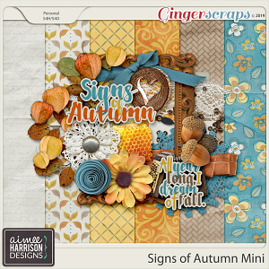 Signs of Autumn Mini Kit by Aimee Harrison