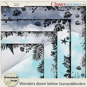 Wonders down below Stamps&Borders