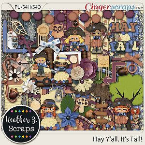 Hay Y'all, It's Fall KIT by Heather Z Scraps
