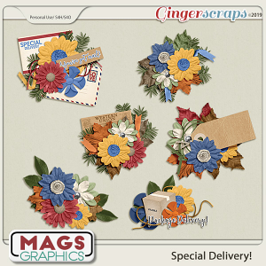 Special Delivery CLUSTERS by MagsGraphics