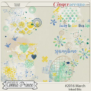 #2016 March - Inked Bits