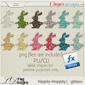 Hippity Hoppity: Glitterstyles by LDragDesigns