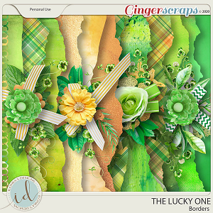 The Lucky One Borders by Ilonka's Designs
