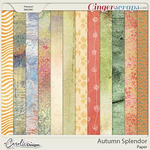 Autumn Splendor-Papers
